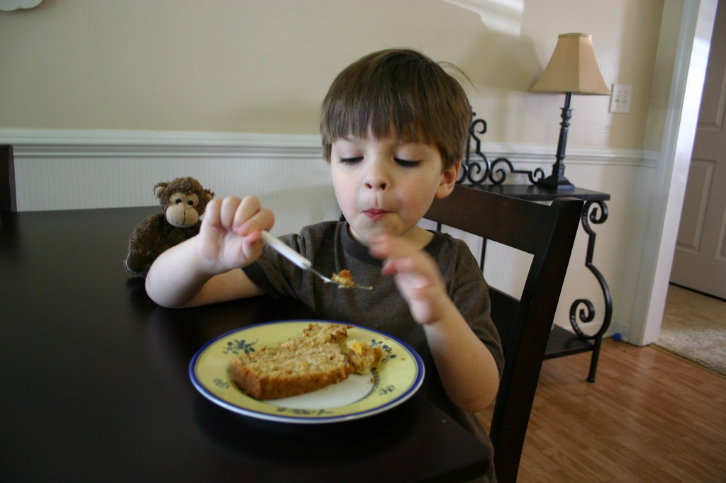 Peach Bread Picky Eater