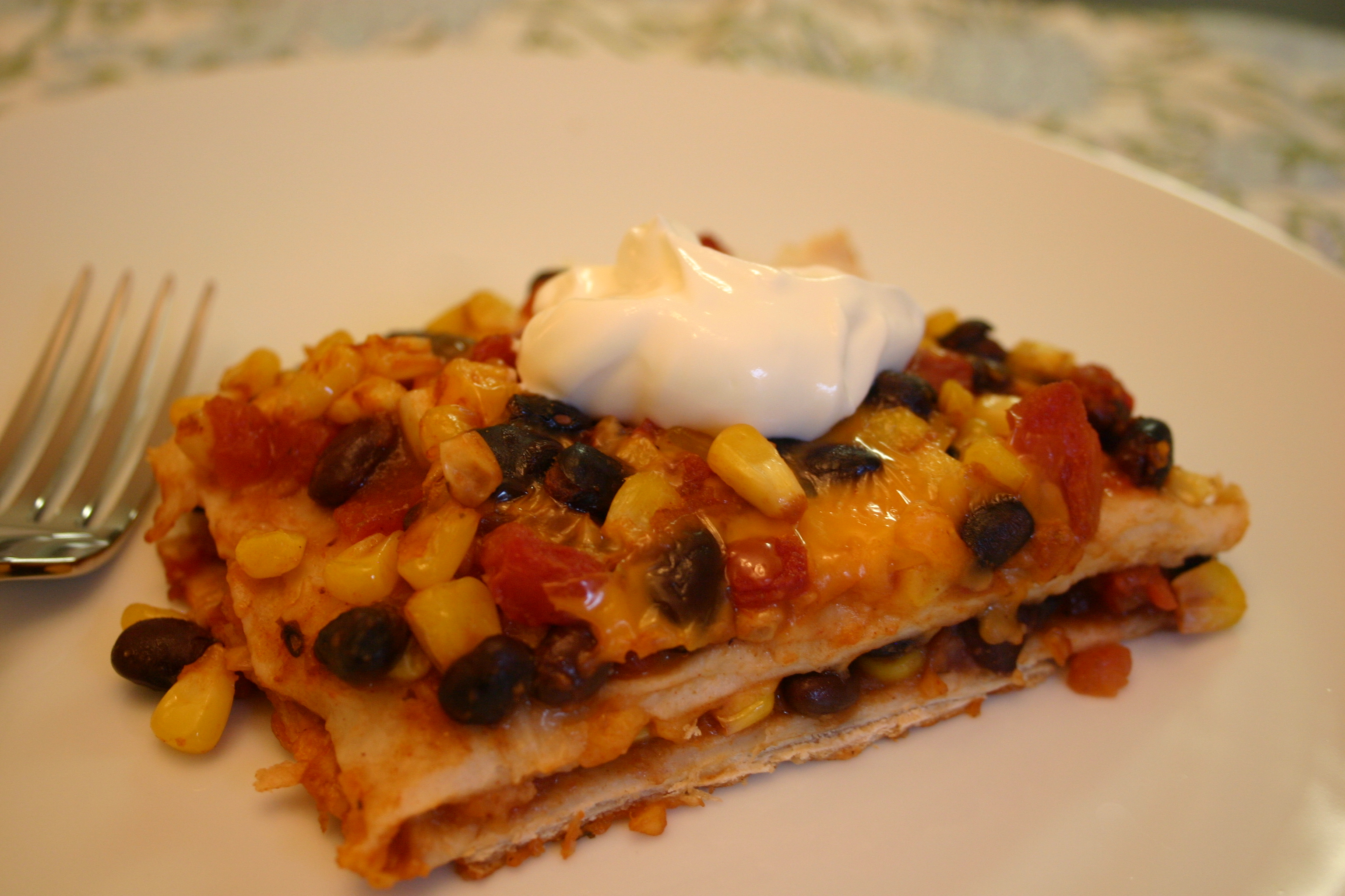 Easy Mexican Casserole - Across the Kitchen Table