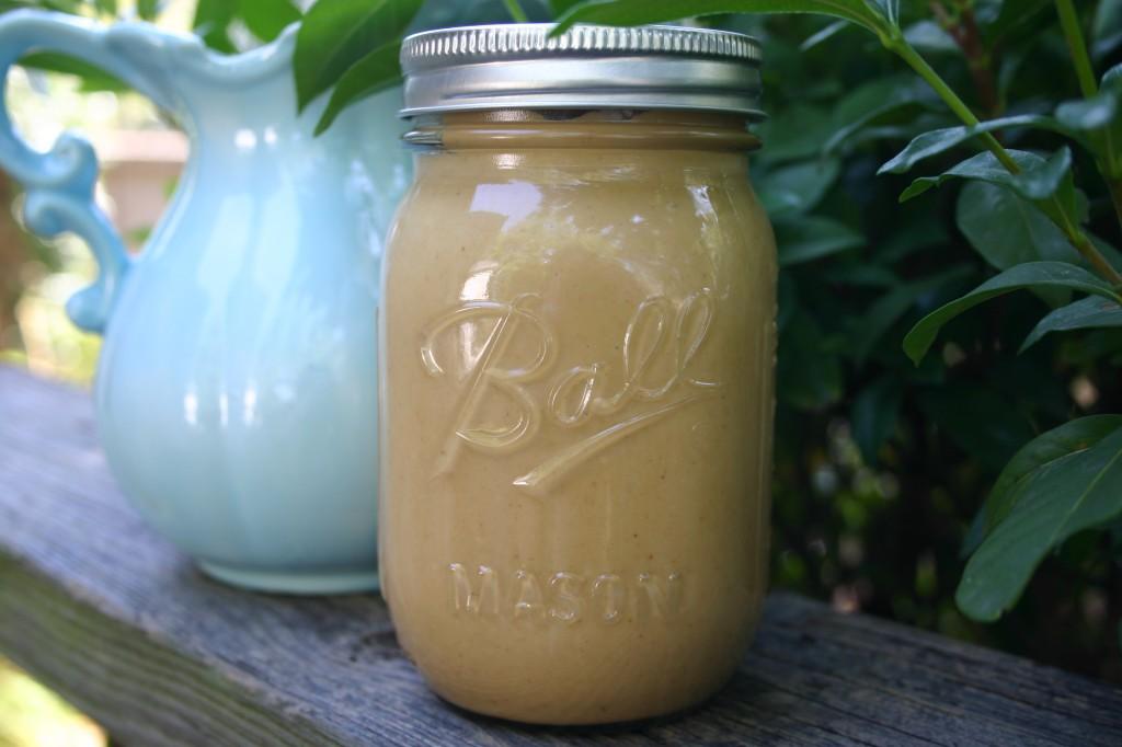 homemade natural peanut butter