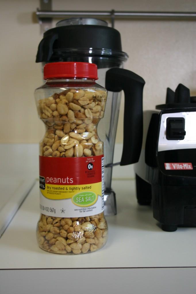 homemade peanut butter peanuts