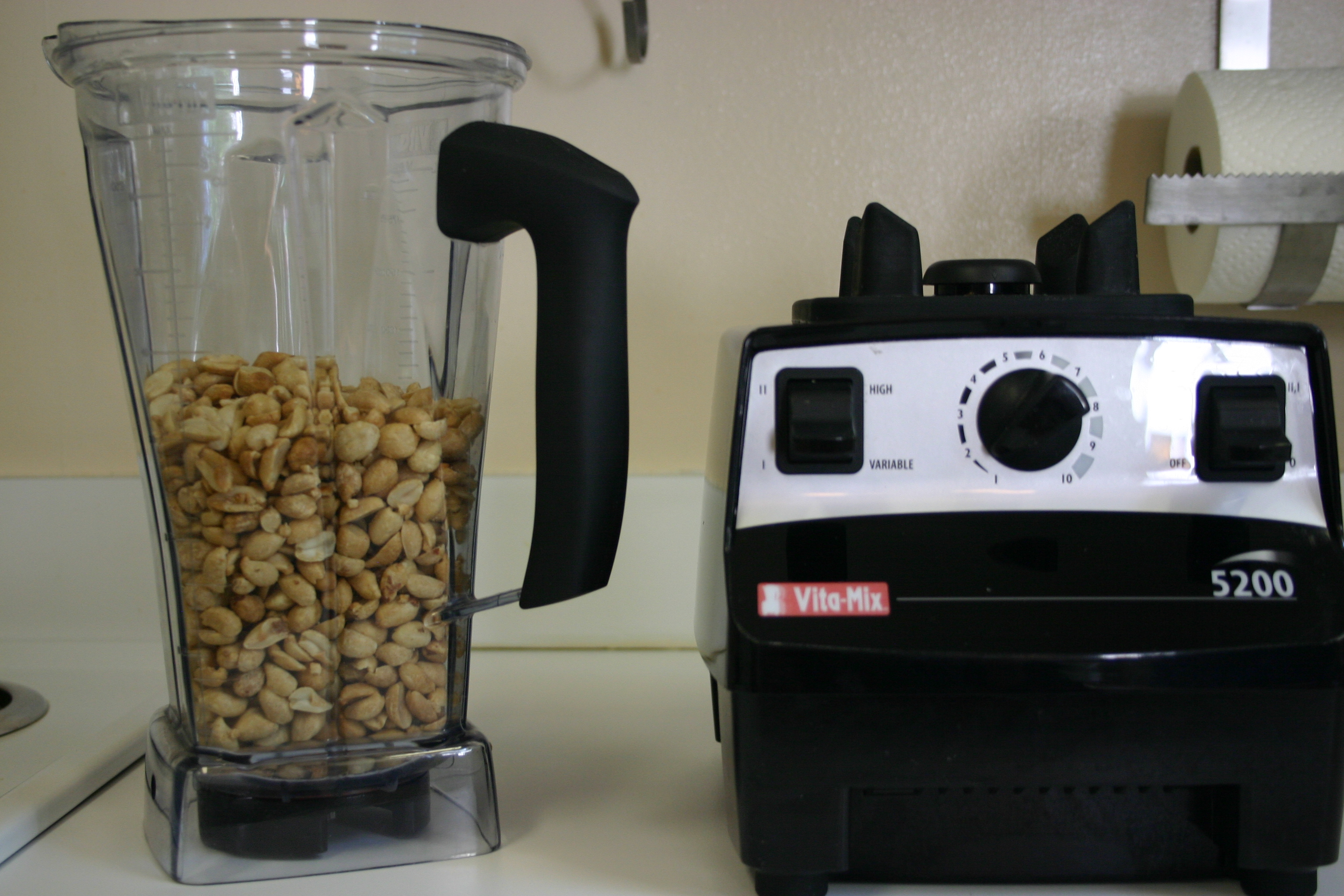 Vitamix archives across the kitchen table homemade peanut butter peanuts homemade peanut butter vitamix forumfinder Choice Image