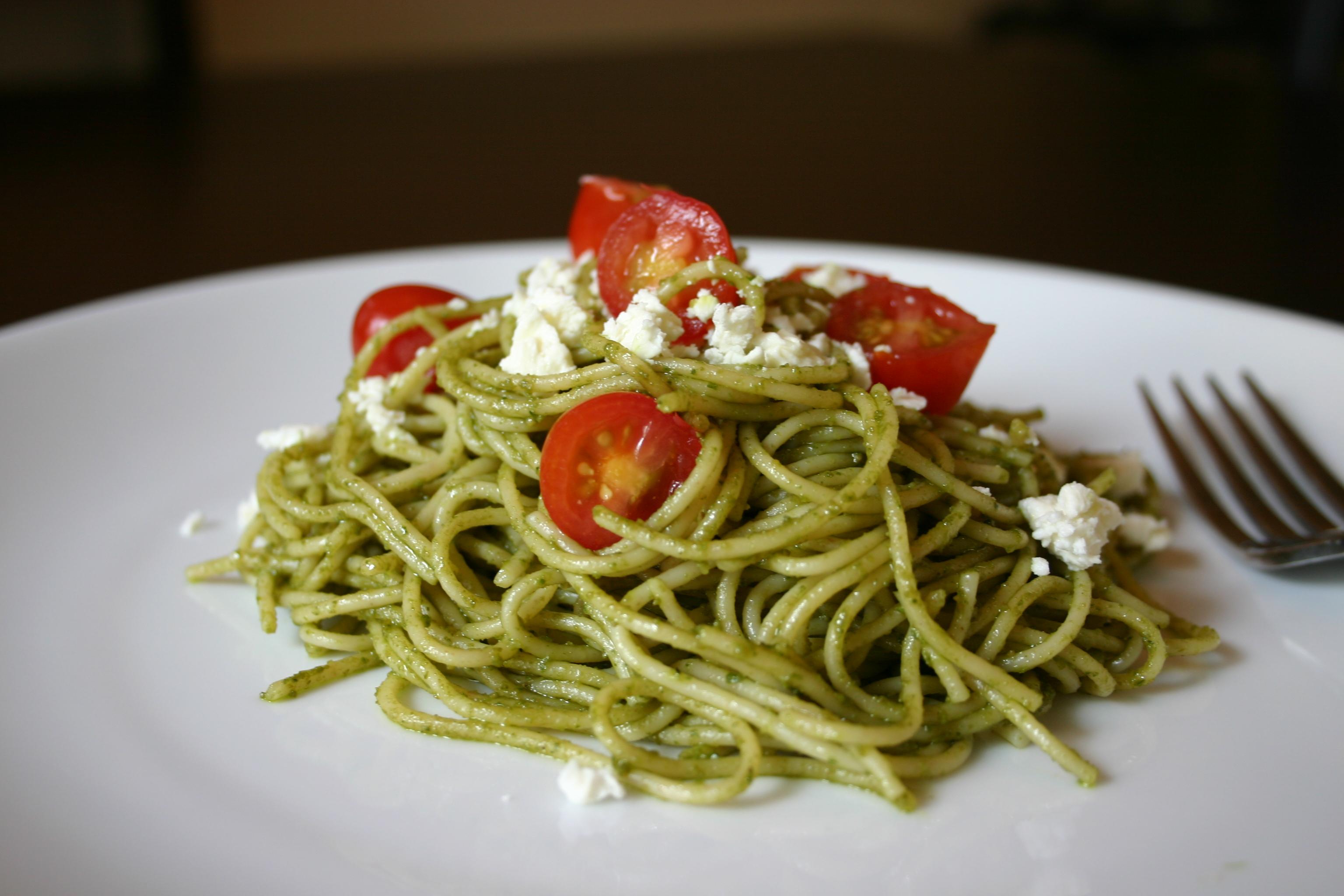 basil pesto by pesto pasta with tomatoes basil avocado pesto pasta ...