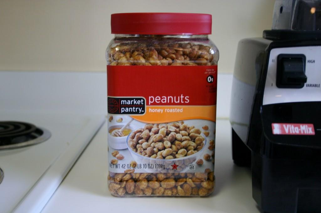 chocolate peanut butter peanuts