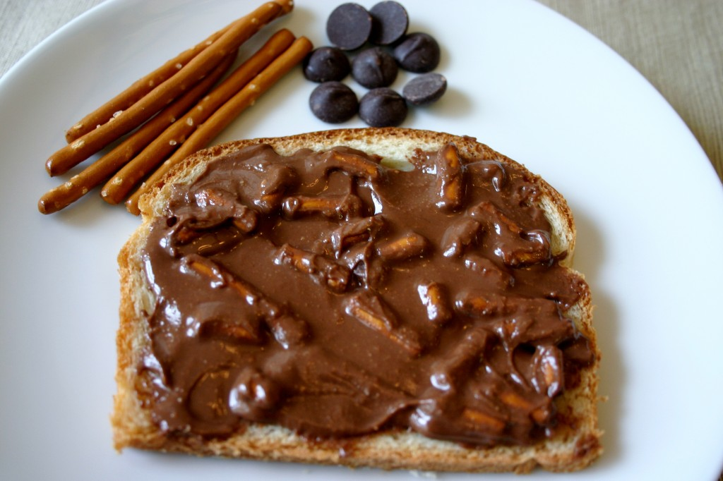 pretzel peanut butter
