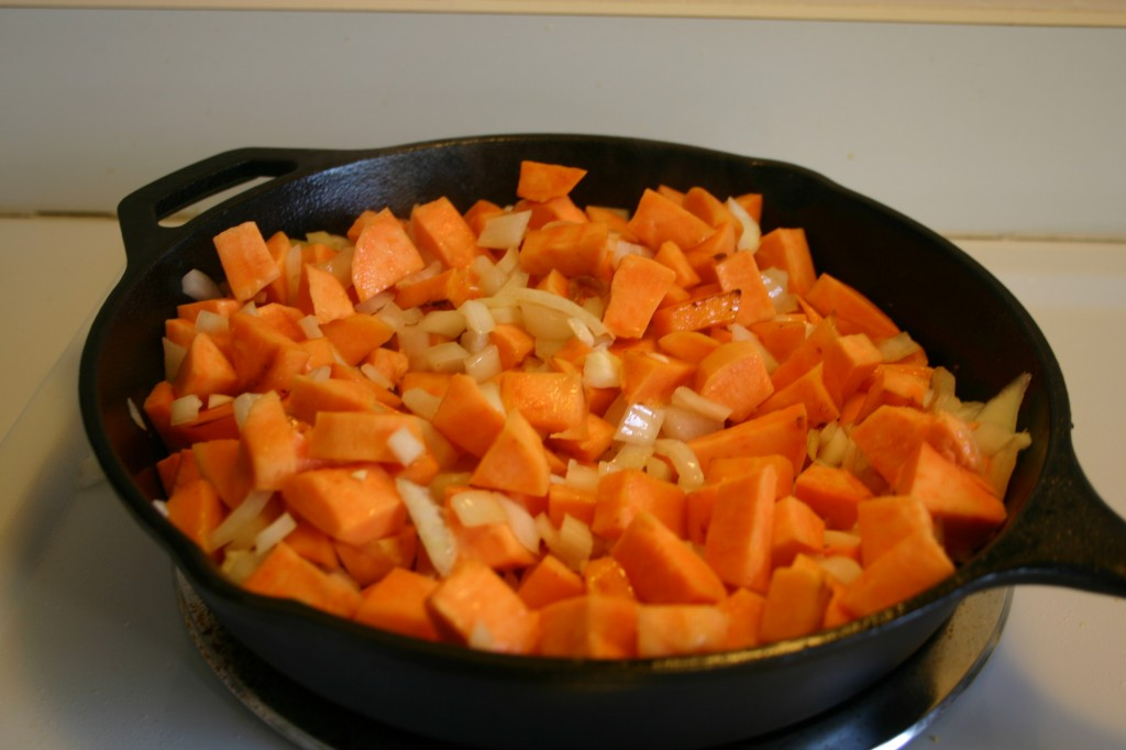 curry chicken with sweet potato