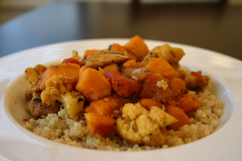 easy curried chicken recipe